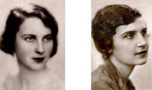 Ержибет Шимон, мис Европа 1929г и Мис Европа 1930г - Алики Диплараку