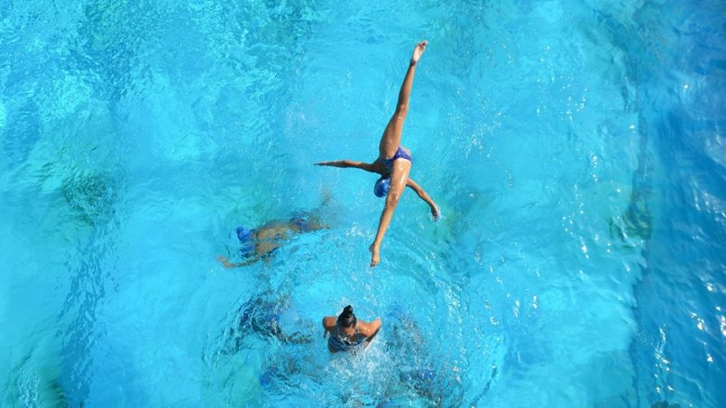 ДЛОП синхронно плуване 2017 февруари