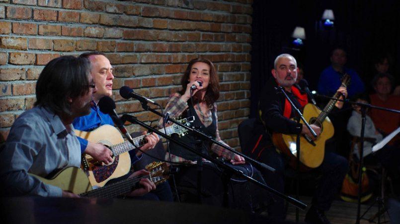 ТОчка бг и Цветина Панайотова с благотворителен концерт във ВОенния клуб